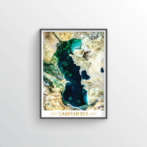 Caspian Sea Earth Photography - Art Print - Point Two Design