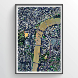 Central London Earth Photography - Art Print - Point Two Design