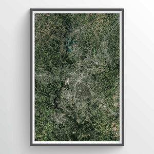 Charlotte Earth Photography - Art Print - Point Two Design