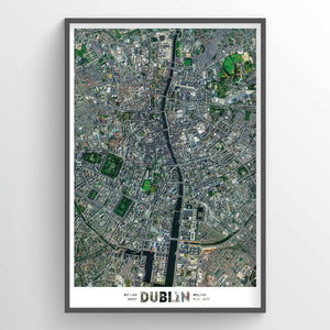 Dublin Earth Photography - Art Print - Point Two Design