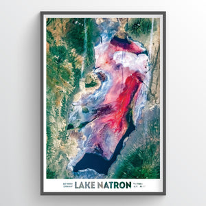 Lake Natron - Fine Art