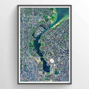 False Creek Earth Photography - Art Print - Point Two Design