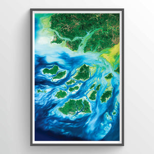 Guinea Bissau Earth Photography - Art Print