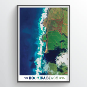 Hookipa Beach Hawaii Earth Photography - Art Print