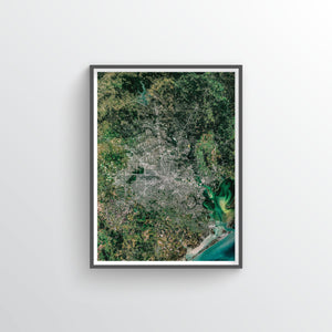 Houston Earth Photography - Art Print