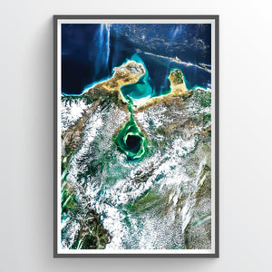 Lake Maracaibo Earth Photography - Art Print