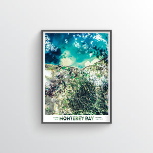 Monterey Bay Earth Photography - Art Print