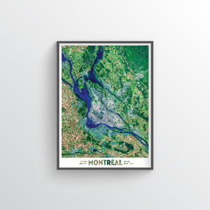 Montreal Earth Photography - Art Print