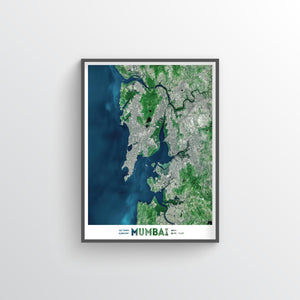 Mumbai Earth Photography - Art Print