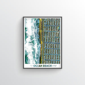 Ocean Beach San Francisco Earth Photography - Art Print