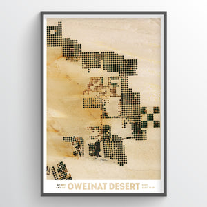Oweinat Desert - Earth Photography Fine Art Print
