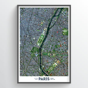 Paris Earth Photography - Art Print