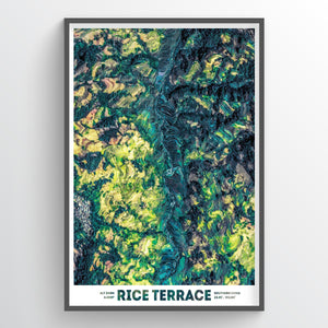 Rice Terrace - Fine Art