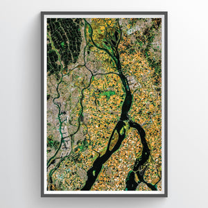 Rotterdam Earth Photography - Art Print