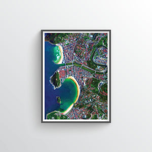 San Sebastian Earth Photography - Art Print