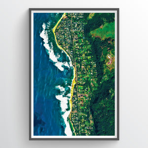 Sunset Beach Hawaii - Fine Art