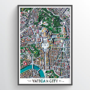 Vatican Earth Photography - Art Print