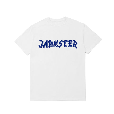 Jankster - White - T-shirt