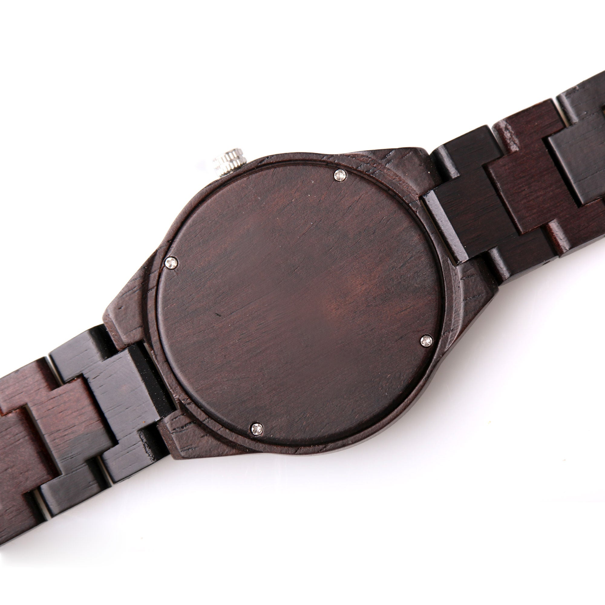 Woodberry Wood Watch | Dark Wood | Wood Strap