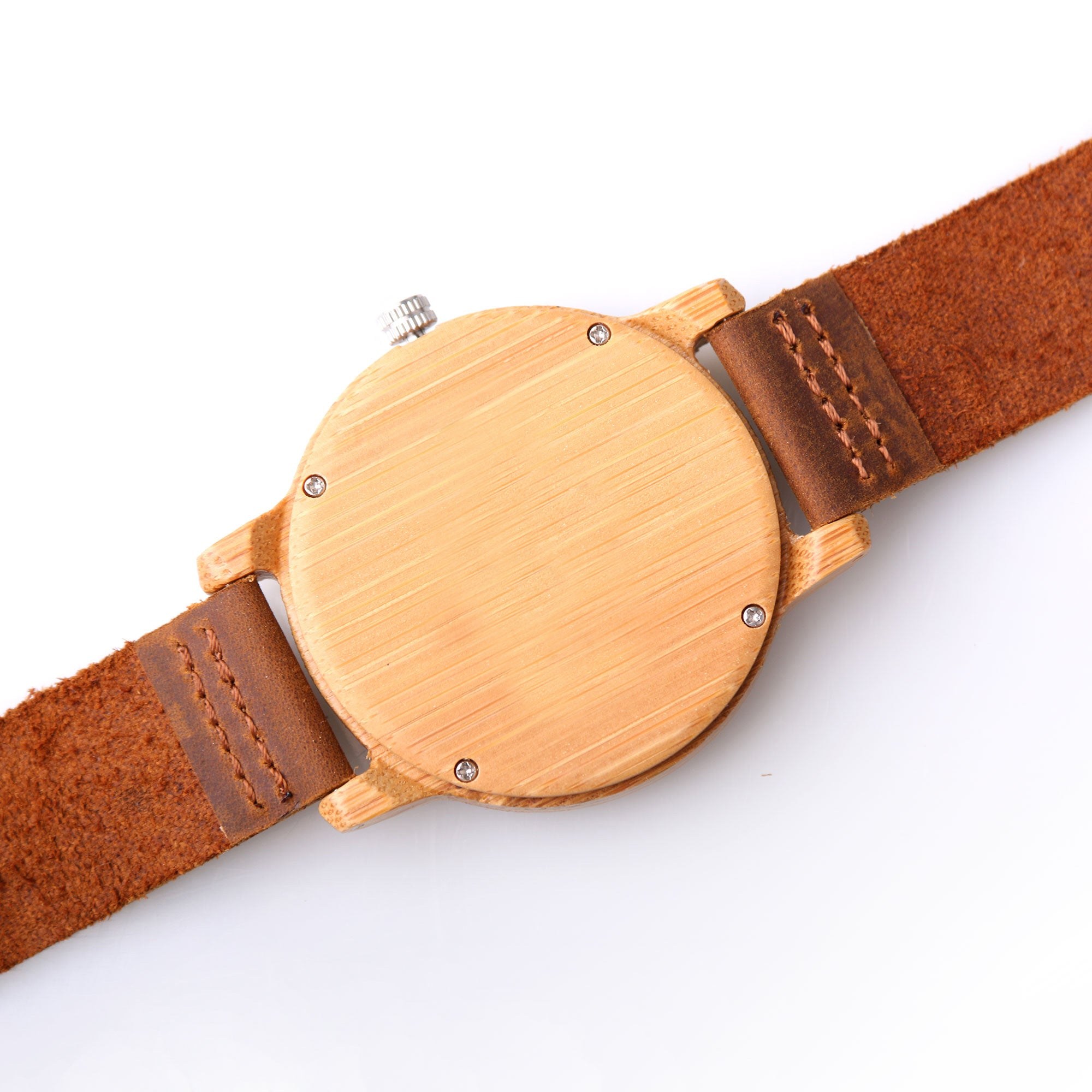 Melton Wood Watch | Light Wood | Leather Strap