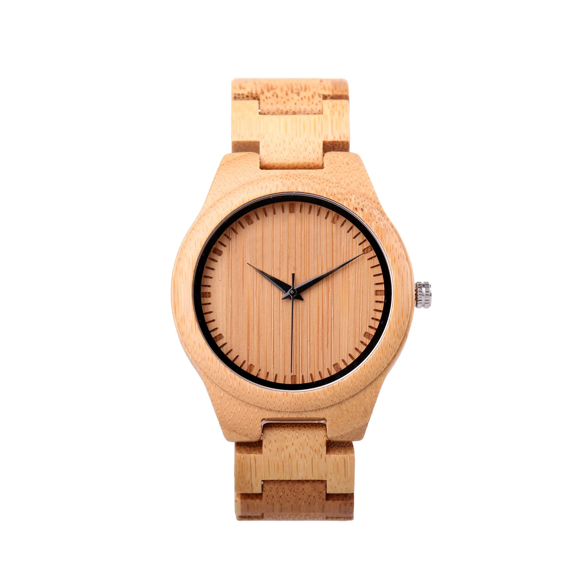 Woodberry Wood Watch | Light Wood | Wood Strap