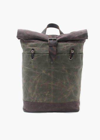 Buckley Canvas Backpack Basil