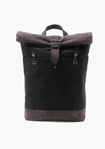 Buckley Canvas Backpack Black