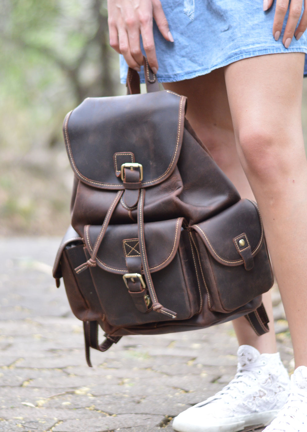 Benjamin Leather Backpack
