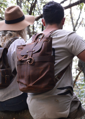 Jonah Leather Backpack
