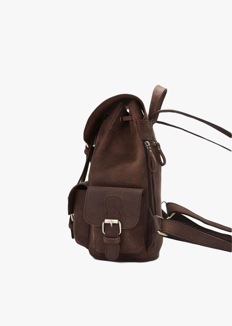 Emily Leather Backpack