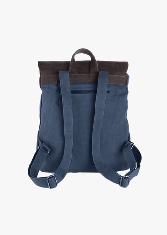 Finch Canvas Backpack Blue