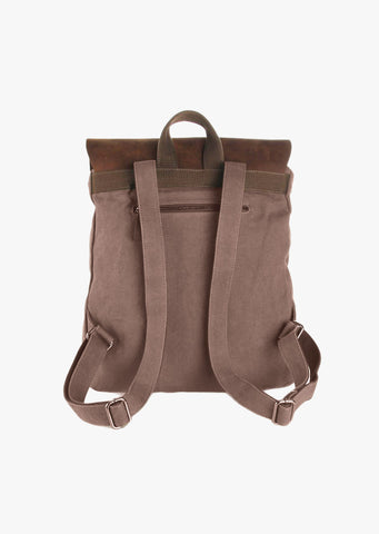 Finch Canvas Backpack Coffee