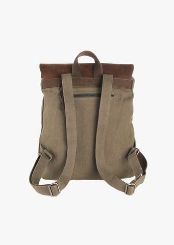 Finch Canvas Backpack Olive