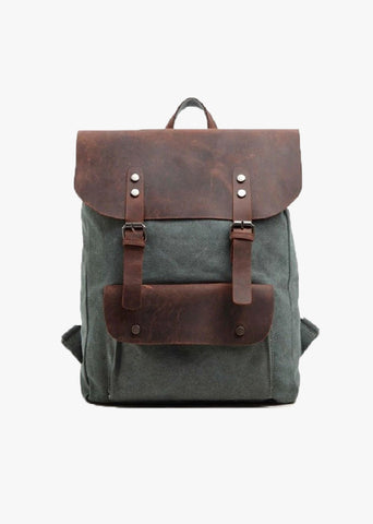 Finch Canvas Backpack Teal