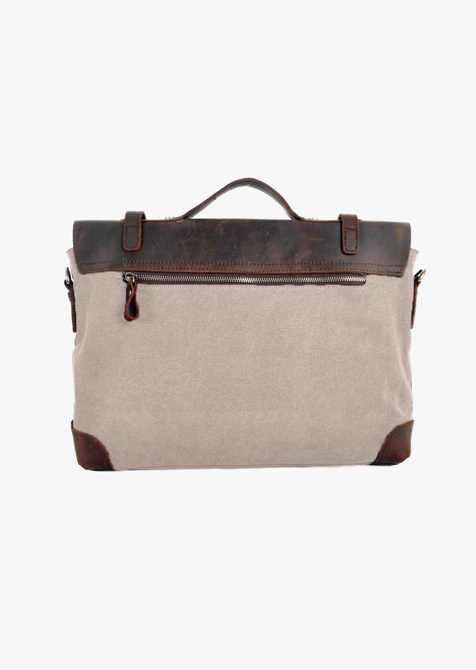 Atticus Canvas Messenger Beige