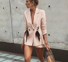 Lace up Blazer - iTrendZone