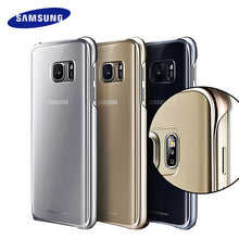 100% Original Samsung S7 S7 Edge Case Transparent protective shell Ultra Slim Back Protective Case for samsung s7  Clear Cover - iTrendZone