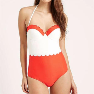 Vintage Cut Swimsuit - iTrendZone