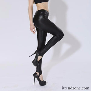 Leather Pants Leggings - iTrendZone