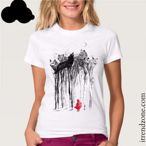 Little Red Riding Hood T Shirt - iTrendZone