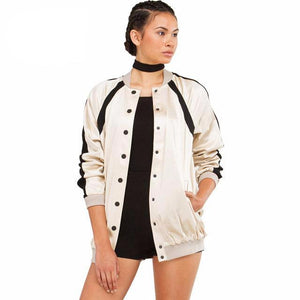 Color Block Jacket - iTrendZone