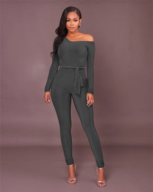 Off the Shoulder Jumpsuits - iTrendZone
