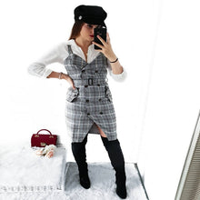 Plaid Strap Dress - iTrendZone