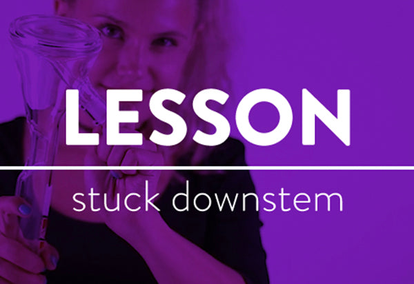 LESSONS: How to Loosen your Removable Downstem