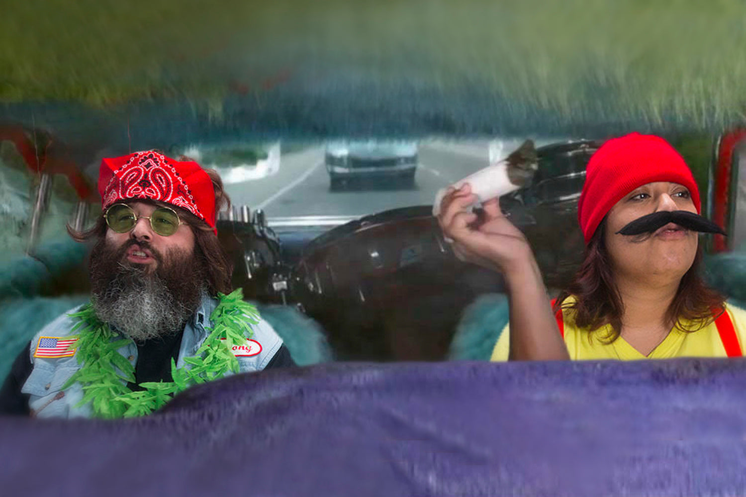 GRAV® | Trapped forever as Cheech and Chong