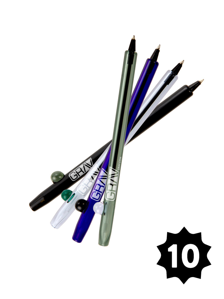 GRAV® Boro Writing Pen - Pack of 10