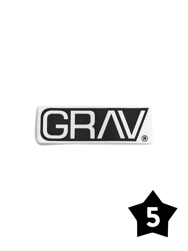 GRAV® Sticker - Pack of 5