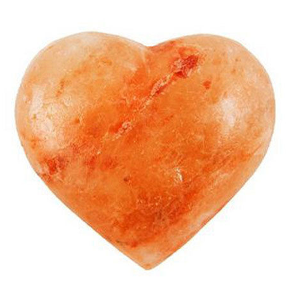 Himalyan Salt Stone Heart Shaped - All Natural