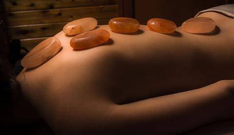 50 Minute Massage + 25 Minute Himalayan Salt Stone Add On