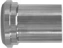 "4"" PBS Light Tank Ferrule-304"